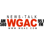 News Talk WGAC 580 95.1 FM United States of America, Harlem