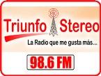 Triunfo Stereo 98.6 FM 98.6 FM Colombia, Tunja