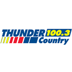 Thunder Country 100.3 100.3 FM United States of America