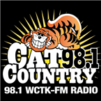 Cat Country 98.1 98.1 FM USA, New Bedford