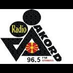 Radio Akord 96.5 FM Macedonia, Southwestern Region