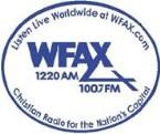 WFAX 1220 AM USA, Falls Church