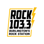 Rock 103.3 - Burlington's Rock Station 103.3 FM USA, Waterbury