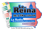 La Reina Iowa 96.5 FM USA, Boone