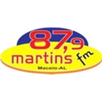 Rádio Martins FM 87.9 FM Brazil, Maceió