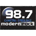 Modern Rock 98.7 98.7 FM USA, Wilmington