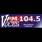 FM Voces 104.5 104.5 FM Uruguay, Maldonado
