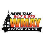 News/Talk 94.7 & 970 WMAY 970 AM United States of America, Springfield