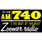 Zoomer Radio 740 AM Canada, Toronto