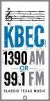 KBEC Classic Texas Music 1390 AM USA, Dallas-Fort Worth