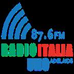 Radio Italia Uno 87.6 FM Australia, Adelaide
