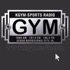 KGYM Sports Radio 1600 AM USA, Cedar Rapids