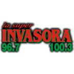 La Invasora 96.7 92.3 FM USA, Shreveport