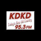 KDKD-FM 95.3 FM USA, Clinton