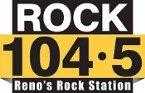 Rock 104.5 Reno's Rock 104.5 FM USA, Reno