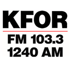 KFOR 1240 AM 103.3 FM 1240 AM United States of America, Lincoln