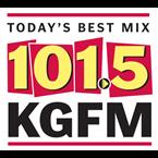 KGFM 101.5 FM USA, Bakersfield