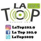 LA TOP 102.9 102.9 FM Honduras, San Pedro Sula