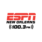 ESPN Radio New Orleans 100.3 FM USA, New Orleans