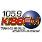 105.9 KISS-FM 105.9 FM USA, Lawrence