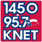 KNET 1450 AM United States of America, Palestine