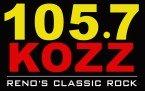 105.7 KOZZ Reno's Classic Rock 105.7 FM USA, Reno