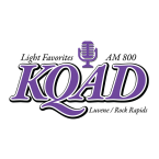 AM 800 KQAD 800 AM USA, Luverne