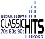 Classic HIts KQKD 1380 AM USA, Redfield