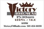VictoryFMRadio 1530 AM USA, Little Rock