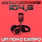Rádio Novos Tempos FM 104.9 FM Brazil, Santo Antonio