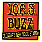 106.3 The Buzz 106.3 FM United States of America, Decatur