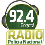 Radio Policía Bogotá 92.4 FM 92.4 FM Colombia, Bogotá