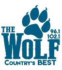96.1 & 102.1 The Wolf 99.9 FM United States of America, Montpelier