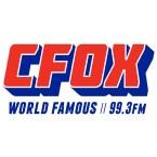 CFOX 99.3 FM Canada, Vancouver