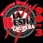 La Bestia Grupera León 90.3 FM Mexico, León