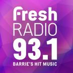 Fresh Radio 93.1 93.1 FM Canada, Barrie