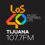 LOS40 Tijuana 107.7 FM 107.7 FM Mexico, Tijuana