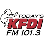 KFDI-FM 101.3 FM United States of America, Wichita