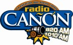 Radio Cañon 820 AM Mexico, Guadalajara