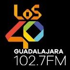 LOS40 Guadalajara 102.7 FM 102.7 FM Mexico, Guadalajara