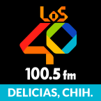 LOS40 Delicias 100.5 FM Mexico, Delicias Municipality