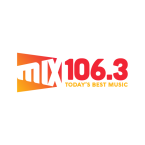 Mix 106.3 106.3 FM United States of America, Saginaw
