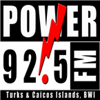 Power 92.5 FM 92.5 FM Turks and Caicos Islands, Kew
