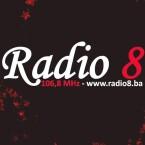 Radio 8 106.8 FM Bosnia and Herzegovina, Sarajevo