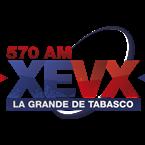 La Grande de Tabasco 570 AM Mexico, Comalcalco