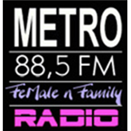 Radio Metro Female 88.5 FM Indonesia, Surabaya