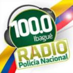 Radio Policia Nacional 100.0 FM Colombia, Ibagué