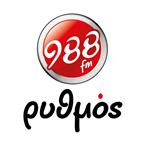 Rythmos Larissas 988 98.8 FM Greece, Larissa