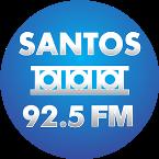 Rádio Santos FM 92.5 FM Brazil, Santos