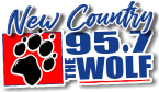 957 The Wolf 95.7 FM USA, Red Bluff